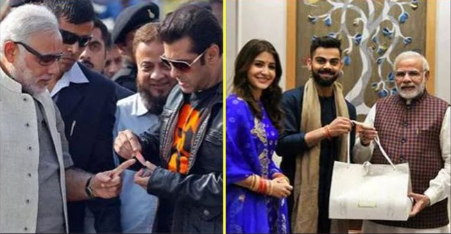 Bollywood celebs that are very close to PM Narendra Modi, ft. Virushka and more