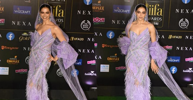 Deepika Padukone sets the internet ablaze in a Gaurav Gupta couture at IIFA awards, see pics