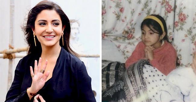 Anushka Sharma's childhood photographs are adorable and cute