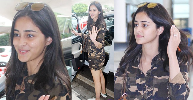 PHOTOS: Ananya Panday shows us how to be beautiful without makeup in latest airport visit