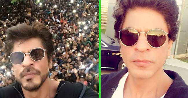 Some selfies of Shah Rukh Khan that will make you fall for him over and over again