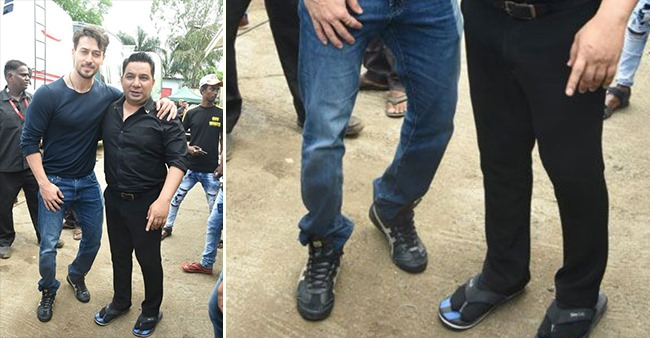 PHOTOS: Tiger Shroff's extra long pair of jeans is something you should definitely give a shot