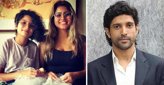Farhan Akhtar shares the 'Little Pleasures of Life' in a picture featuring his daughters Akira and Shakya
