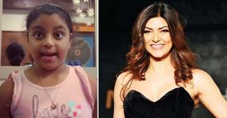 Sushmita Sen shares a video of her daughter reciting poem in Bengali and she is very proud