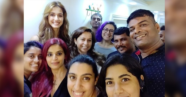 Disha Patani shares pictures with her team post completion of Malang and Tiger Shroff is loving it