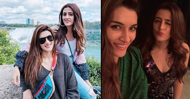 Kriti Sanon and Nupur Sanon's vacay pics will want you to go tripping with your siblings right away