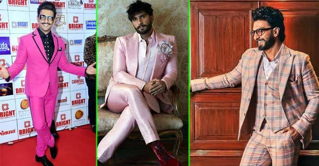 Ranveer Singh Reiterates his Style in Perfect Pink Trendy Outfits