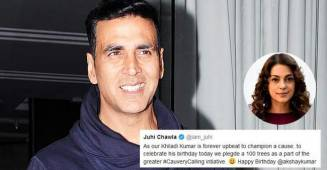 'Best Birthday Gift A Friend Could Give': Akshay Kumar expresses gratitude to Juhi Chawla