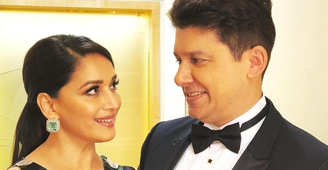 Madhuri Dixit posts an adorable Anniversary wish for Sriram Nene that you must not miss