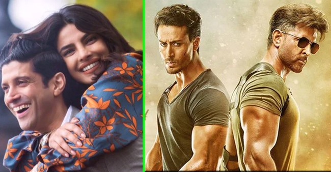 Box Office Collections: Hrithik, Tiger film continues winning run, The Sky Is Pink stutters again