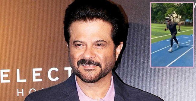 Anil Kapoor posts a video of himself running like Milkha Singh and netizens are in awe of him