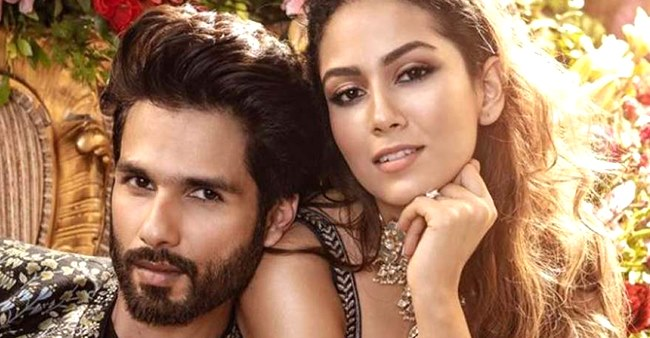 Shahid Kapoor reveals he and his wife Mira Rajput are poles apart but says they make a nice team