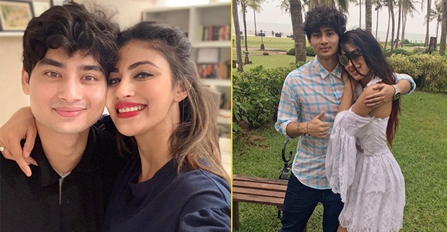 Mouni Roy's pictures with her brother Mukhar show that they are much more than just siblings
