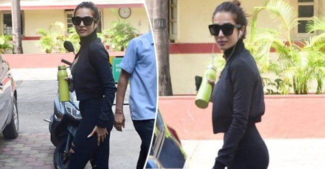 Malaika Arora's latest all black gym avatar will take away all your midweek blues, see pics