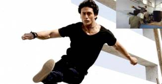 Tiger Shroff shares BTS video, rehearsing for an action sequence from 'War', check it out