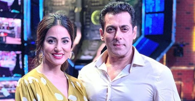 Hina Khan to make an appearance on Big Boss 13, shares pictures with Salman Khan from sets