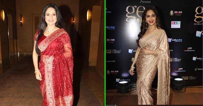 Madhuri Dixit, Gauhar Khan and others bring their A-game to the Global Excellence Awards, see pics