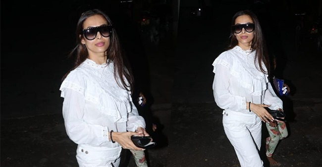 Malaika Arora looks like her casual best as she gets papped outside a salon post her birthday