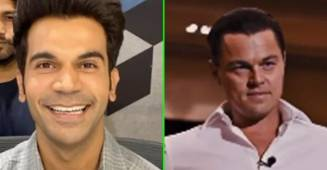 Rajkummar Rao shares a hilarious video of himself selling a 'pen' to Leonardo Di Caprio