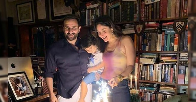 Kareena and Saif celebrate their wedding anniversary, pictures go viral, check them out