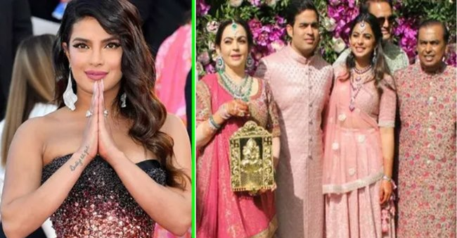 Priyanka Chopra reveals the gifts that she got from the Ambanis at her wedding – Details Inside