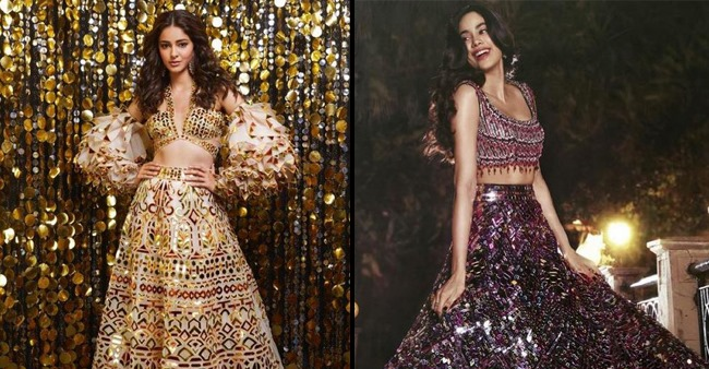Our How to wear Shimmery outfits this Diwali guide ft. Janhvi Kapoor, Ananya Panday and others