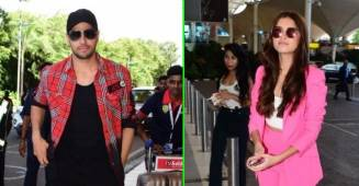 Marjaavaan stars Sidharth Malhotra and Tara Sutaria get papped at the airport together, see pics