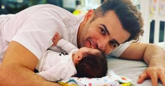 Jay Bhanushali's Cute Photo with his Baby Tara Will Brighten Your Day