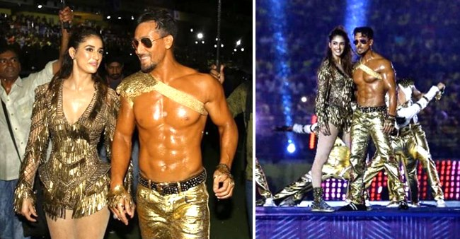 Tiger Shroff-Disha's Stunning Performance at Indian Super League Opening Ceremony
