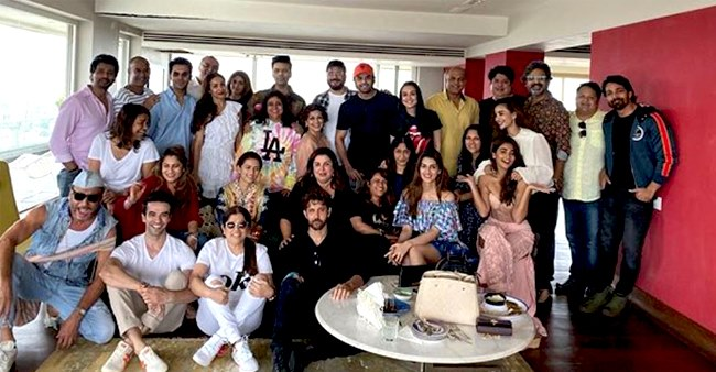 Akshay to Hrithik, B-Town Celebs Attends Farah Khan's House Party