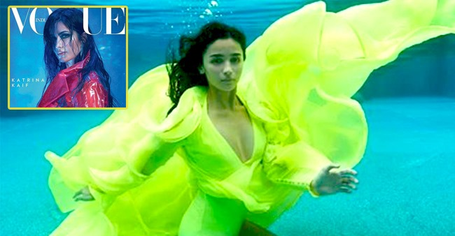 Katrina's Drenched and Alia's Mermaid Look for Magazine Cover Gains Appraisal
