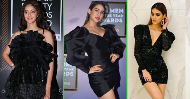The little black dress trend is back and we say so with proof ft. Kriti Sanon, Ananya Panday & others