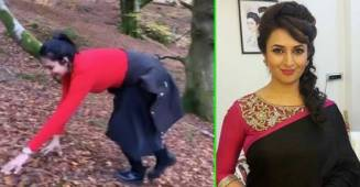 Divyanka Tripathi's video of 'monkey climb' while trekking will make you go 'Aww'; Watch