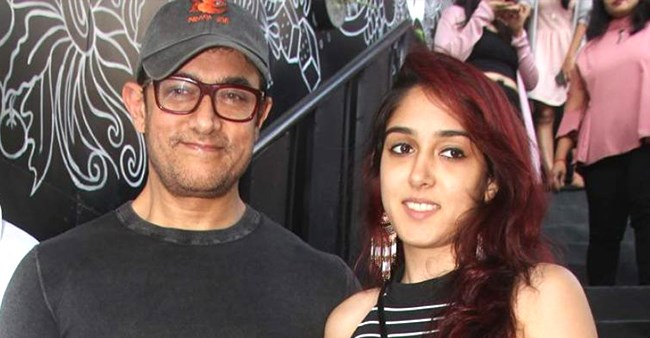 Ira Khan vows to make it big in life before thinking of directing a film with father Aamir as lead