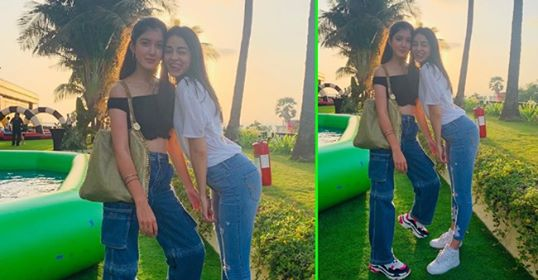 "Ananya Panday's B' day post for Shanaya Kapoor is too cute, Captions ""I love u for life"""
