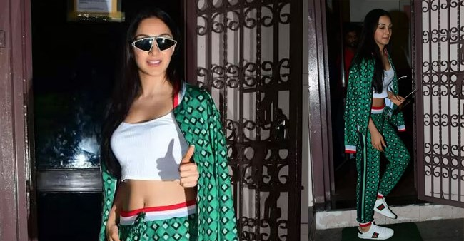 Stylish diva Kiara Advani papped in the city in white Gucci shoes that cost a fortune