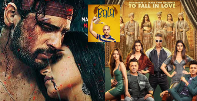 Box Office Collection: Marjaavaan mints 24 Cr in 3 days, Bala to cross 100 Cr, Housefull 4 steady