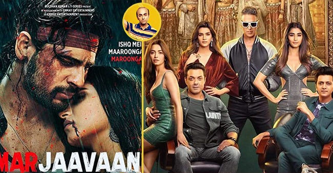 Box Office Collection: Bala clocks 90.88 Cr, Marjaavaan at 37.87 Cr, Housefull 4 still going strong