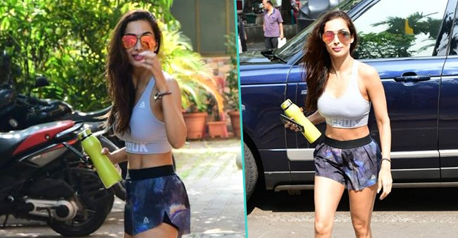 Ageless Malaika Arora flaunts her svelte figure, gets papped outside her gym, take a look