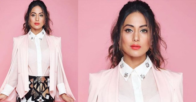 Hina Khan looks like the stuff of dreams in latest Instagram image; gives major fashion goals