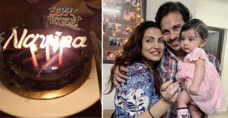 In Pictures: 'Ishqbaaaz' fame Navina Bole celebrates her birthday with family