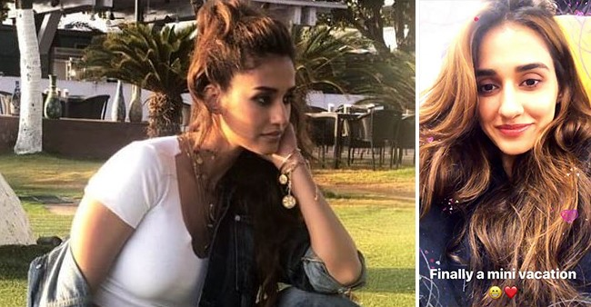 Disha Patani couldn't stop smiling as she jetted off for a much deserved mini vacation, see pics