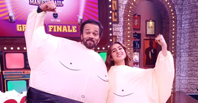 Rohit Shetty and Sara Ali Khan's 'Sumo' picture is the best thing you will see on the internet today