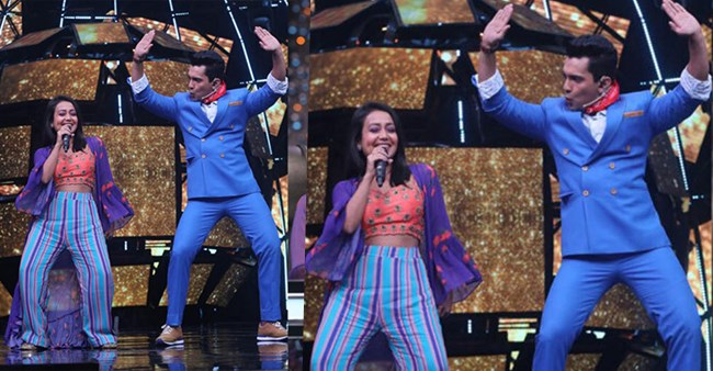 Watch: Aditya Narayan and Neha Kakkar dance to 'Aati Kya Khandala' song on Indian Idol 11