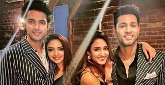 Parth Samthaan, Erica Fernandes and other actors of KZK 'party hard' in Mumbai, watch videos