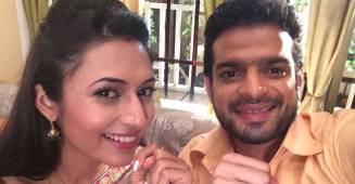 BTS video from sets of Yeh Hai Mohabbatein featuring Divyanka Tripathi & Karan Patel is too cute