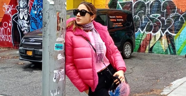 PHOTOS: Sara Ali Khan's photos from New York Vacation all but prove that she loves the color pink