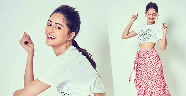 Ananya Panday's latest pictures in printed pink skirt are the epitome of cuteness, see pics