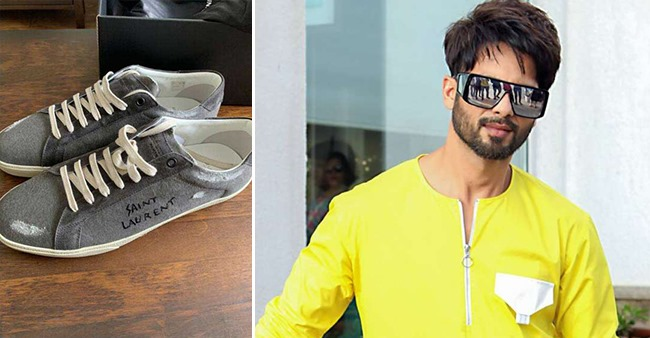 Shahid Kapoor joins the trend by wearing 'dirty' Gucci sneakers that cost Rs 60,000
