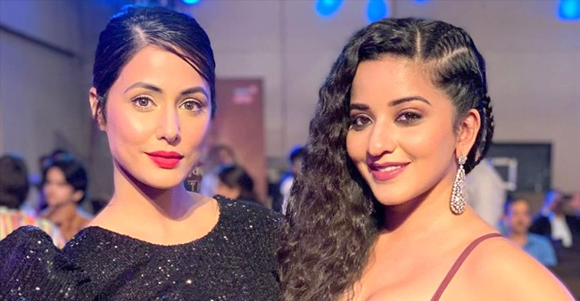 Mona Lisa lavishes praise on Hina Khan, calls the latter 'diva' and her 'inspiration' in latest IG pic